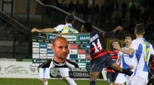 Cosenza - Siracusa  e in riquadro Mr Paolo Bianco soddisfatto per la resistenza operata dai suoi