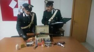 Pachino- Sequestro di revolver e carabina a leva