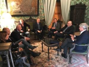 Incontro al Comune con i rappresentanti della CCC Ortigia e il presidente