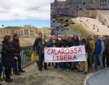 Siracusa – Vittoria  ambientalista: Cala Rossa resta libera. Il Comune ritira la concessione (solarium) rilasciata a privati.