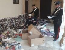 Siracusa- Controlli PM e Carabinieri contro l'abusivismo in Ortigia con max sequestro di merce varia.