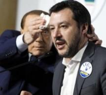 Milano – Berlusconi incontra Salvini ad Arcore e gli asciuga il sudore per incoronarlo premier designato.