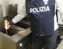 Siracusa- Controllate attività ristorazione e sequestrati 63 kg di prodotti alimentari; 2 denunce per evasione.