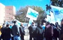 Siracusa – Protesta degli agenti carcerari (Ugl) di Cavadonna per chiedere maggiore sicurezza.