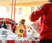 Siracusa – La CRI consegna viveri  ai senza tetto di Casa Sara e Abramo.