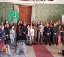 Siracusa – Addetti militari stranieri in visita a palazzo Vermexio
