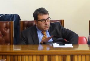 L'assessore Giuseppe Canto