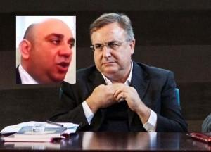Il sindaco Garozzo e Fabio Moschella