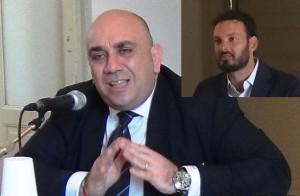 Giancarlo Garozzo e nel riquadro Francesco Italia