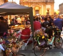 """Augusta – """"Bici in fiore"""" è un successo, ma a pedalare sono solo i commercianti. Il Comune offre soltanto il patrocinio gratuito"""