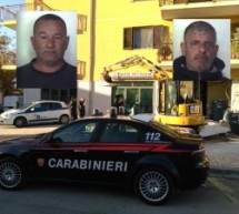 Floridia- Intervento dei Carabinieri impedisce colpo dopo l'attacco al Bancomat con ruspa: 2 arrestati in flagranza. Siracusa – Arresto per evasione dai domiciliari.