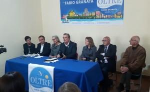 Fabio Granata presenta gli assessori della sua lista