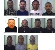 Siracusa – In carcere 11 spacciatori nell'Operazione Megara. Rifornivano Priolo,Belvedere, Città Giardino. Priolo-Denuncia per stalking . Avola-Incendiata auto