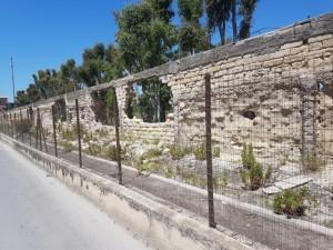 Apertura nella recinzione