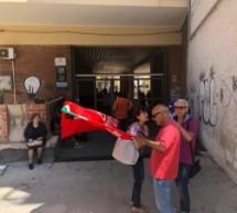 """Augusta – Sit in dei sindacati contro la chiusura dell'Inps. Pd e Leu chiedono al senatore 5S Pisani di rompere """"l'ambiguo silenzio"""" e mobilitare la deputazione"""
