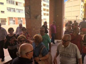 Il Sit in sindacale all'INPS