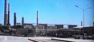 Una delle industrie del siracusano