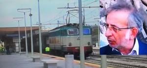stazione di Siracusa e nel riquadro Enzo Vinciullo