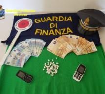 Lentini.45 dosi di cocaina e 1.330 euro in contanti: Guardia Di Finanza arresta 23 enne