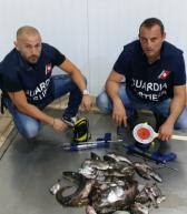 Siracusa: Pesca abusiva nel Porto Grande