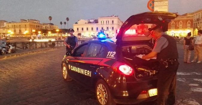 Controlli dei Carabinieri a Ortigia