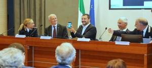 Salvini presenta Mercurio App