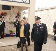 Avola (SR) – 15°anniversario strage Nassiriya: I carabinieri rendono al Brigadiere Coletta;