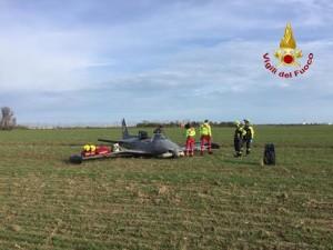 il piccolo aereo caduto