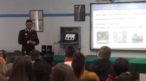 """Siracusa – I Carabinieri incontrano gli studenti dell'Istituto superiore """"Rizza"""""""